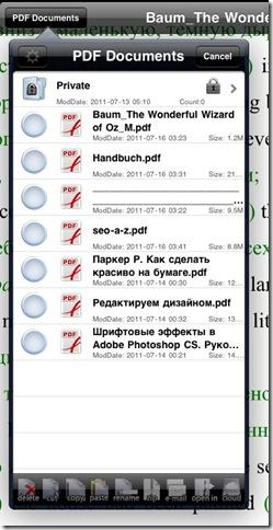 читать pdf на ipad