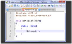 Notepad++ 5.0.2 – замена стандартному блокноту windows