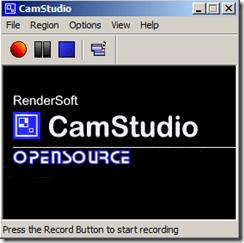 Запись видео с экрана монитора CamStudio
