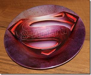 Печать на тарелках методом сублимации. Печать на 3D прессе.