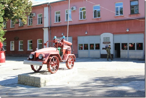 Бендеры пожарная станция