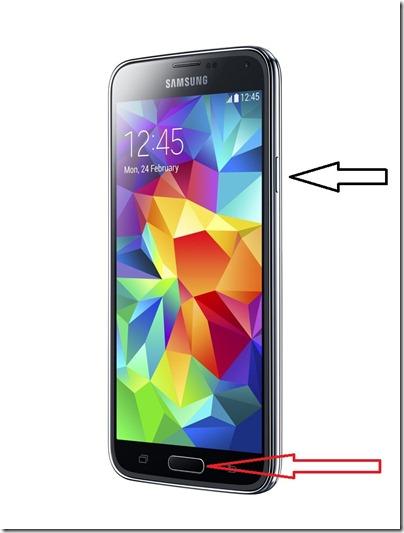 Как сделать скриншот на Samsung Galaxy S5?